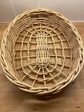 Oval Wicker Tray Basket Natural Rattan