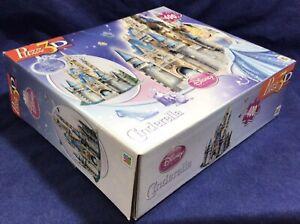 NIB New Puzz 3D CINDERELLA Castle 400 Pcs Milton Bradley MB