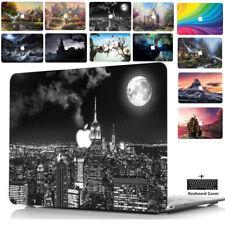 """Für Apple Macbook Air Pro 11 12 13 15 16"""" Bunt Hülle Case Cover Schale Tasche-SU"""
