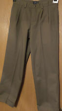 New IZOD Mens Pants 32x30 American Chino Classic Metrix Fit