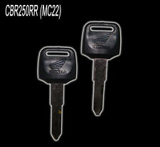 2 x Blank Keys for CBR250RR MC22 = FREE POSTAGE = #KEY012#