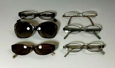 Bulk Lot of 6 COACH Eyeglass/Sunglass Frames Used in Good Condition