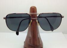 Vintage Neostyle 486 Bronze Aviator Square Sunglasses Eyeglasses Frames Germany