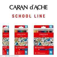 Caran D ' Ache Schule Linie Wasserlöslich Buntstifte 6er-packung 12 18