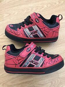 Boys Spiderman Heelys Trainers Size 1