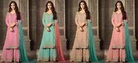 Indian salwar kameez suit Pakistani designer Dress Bollywood ethnic wedding FM
