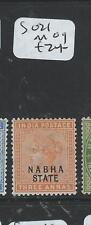 INDIA NABHA (P2308B) QV  3A  SG 21  MOG