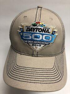 Daytona 500 Cap Nascar Hat The Great American Race 2010 52nd Annual Adjustable