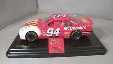 NASCAR Bill Elliott #94 McDonald's Racing Champion 1:24 Diecast Car & Stand 1996