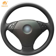 DIY  Steering Wheel Cover for BMW 530 523 523Li 525 520Li 535 545i E60 #0111