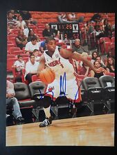 "Dorell Wright Autographed 8"" X 10"" Photograph (#2)"