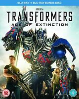 Transformers: Age of Extinction [Blu-ray + Bonus Disc] [Region Free] [DVD]