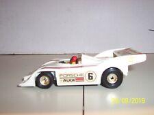 Vintage (1975) Corgi Porsche Audi Racing Car - White(1:36 Scale) Exc Cond No Box