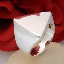 1217.Schlichter edler Designer Ring MEXICO 925 Silber Ring RG 56 (17,8 mm Ø) TOP
