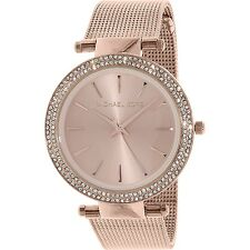 Michael Kors Women's Darci MK3369 Rose-Gold Stainless-Steel Quartz Fashion Watch
