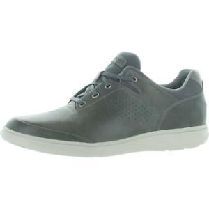 Rockport Mens Zaden Ubal Gray Leather Oxfords Shoes 13 Medium (D) BHFO 0712
