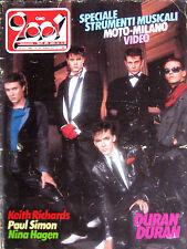CIAO 2001 50 1983 Duran Duran Paul Simon Nina Hagen Righeira Keith Richards Fixx