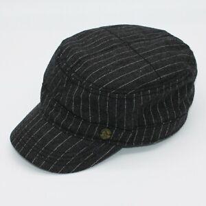 Original Penguin by Munsingwear Gray Stripe Cadet Hat size L XL