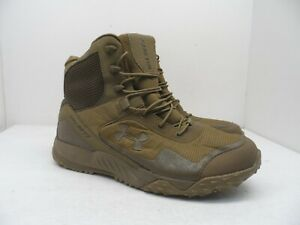 Under Armour Men's Valsetz RTS Tactical Work Boots Beige Size 11.5M