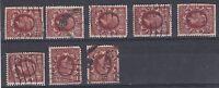 1934-36 GV 11/2d (with faults) WMK SIDEWAYS & WMK INVERTED SG441d & 441Wi