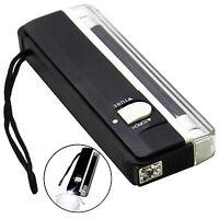 4W Mini Portable UV Ultra Violet Black Light Lamp Torch BANK NOTES Check