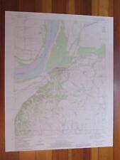 Hickman Kentucky 1983 Original Vintage USGS Topo Map