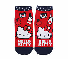 Authentic Hello Kitty Licensed Milk Ankle Socks, New with Tags