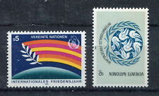 19344) UNITED NATIONS (Vienna) 1986 MNH** Int. Year of Peace.