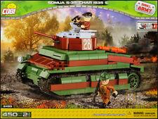 COBI Somua S-35 Char 1935 S (2493) - 450 elem. - WWII French cavalry tank