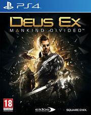 Deus ex : Mankind divisé - Day One édition (PS4) tout neuf et scellé - Import