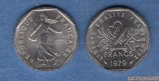 2 Francs Semeuse 1979 SUP SPL Provenant de rouleau - France