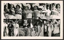 1937 RP Collage Brazilians Carnival, Kids, Costumes, Recife Brazil, Pretty Women