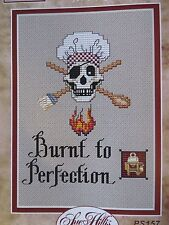 10% Off Sue Hillis Designs Counted X-stitch chart - Burnt to Perfection