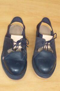 camper sz 39  blue  sandals near new collaboration style rare