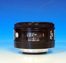 Minolta AF 50mm / 1.7 für Minolta A Sony Objektiv lens objectif - (200846)