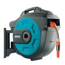 GARDENA 08023-20 Wand Schlauchbox Comfort 25m Roll-up Automatic