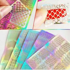 Template Polish Vinyls Manicure Tips Nail Art Tools Nail Art Transfer Stickers