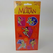 Disney`s Mulan stickers by Sandylion New NOS HTF Rare Small Stickers
