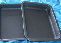 Single Portion Tray / Small Roasting Pan, Twin Pack, British Made