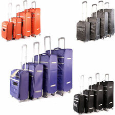 Synthetic 60-100L Suitcases with Secure (Lock Included)
