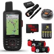 Garmin GPSMAP 66i GPS Handheld and Satellite Survival Kit Bundle - 010-02088-01