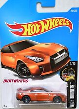 HOT WHEELS 2017 NIGHTBURNERZ '17 NISSAN GT-R (R35) #1/10