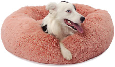 New listing Small Dog Bed Calming Dogs Bed for Small Medium Large Dogs Anti-Anxiety Puppy Be