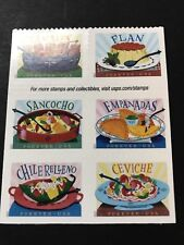 #5192 - 5197a 2017 Delicioso Booklet  Block/6 - MNH or 6 Singles Buyers Choice.