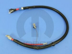 98-02 Dodge Ram 2500 3500 5.9L Diesel Left Positive Battery Cable Mopar New OEM