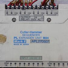 CUTLER-HAMMER NATIONAL PL SEQUENCER EXPANDER UNIT M24 Mark 2 APL270507