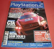 Playstation 2 Magazine [n°89 Sept 2004] PS2 Two Burnout 3 GTA San Andreas *JRF