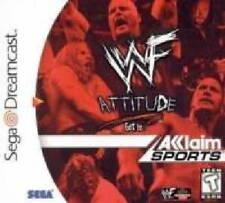 WWF ATTITUDE SEGA DREAMCAST GAME *NEW* AUS EXPRESS