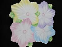 The Bombay Company Spring Blossom Serving Tray 12 1/4 inch Multi-Color Flowers