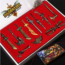 League of Legends LOL Set of 10pcs Badges Pendants Pins Collectibles Toy Gift #B